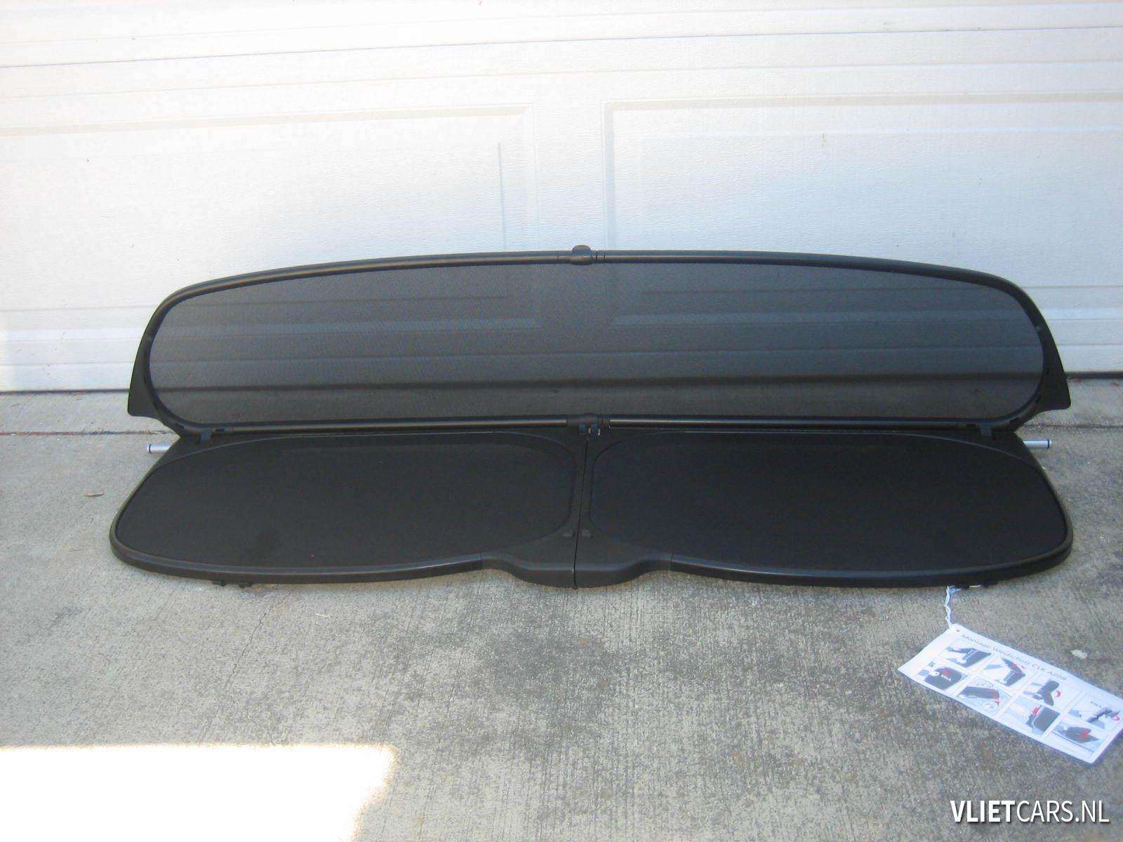 Windscherm mini cabrio inklappen